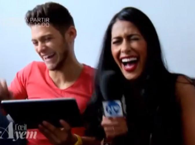 Ayem s'invite sur le tournage de Pep's, fou rire avec Rayane Bensetti !