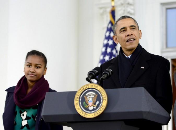 Barack et Michelle Obama : leur fille cadette n'a pas le droit d'aller sur Facebook !