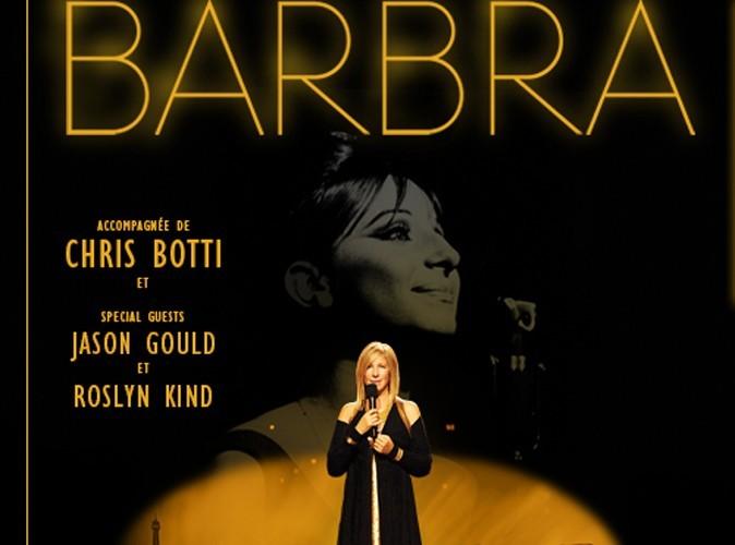 Barbara Streisand : la plus célèbre des divas sera en concert à Paris le 10 juin prochain !