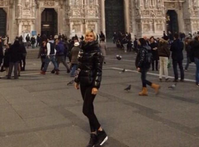Amélie : complètement in love de Milan et de son homme !