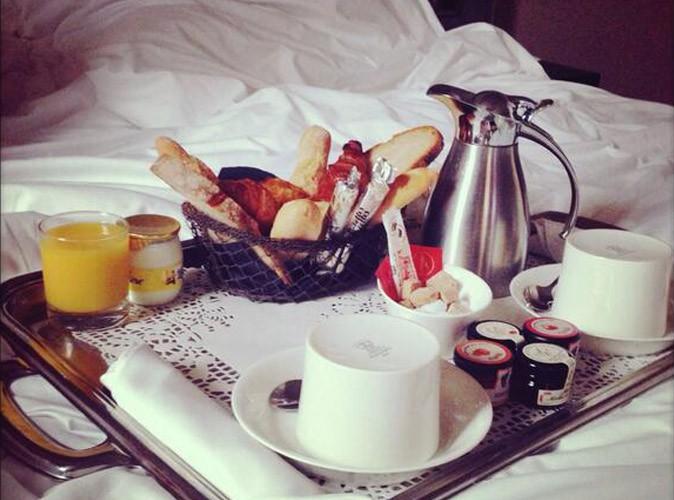 Amélie Neten : gâtée dès le matin !