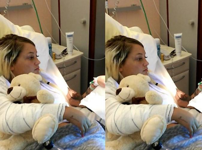 Aurélie Dotremont : à deux doigts de l'amputation !
