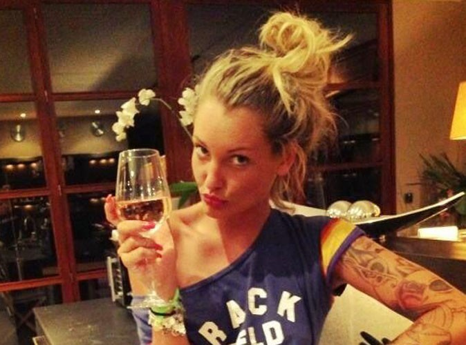 Aurélie Dotremont : petite soirée avec sa crevette !