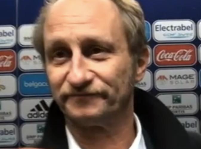 Benoit Poelvoorde : le foot, ça le fait rire !