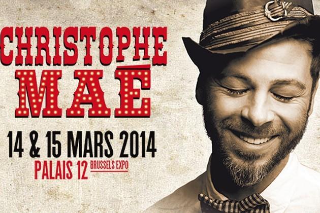 Christophe Maé prend le Palais 12 en otage !