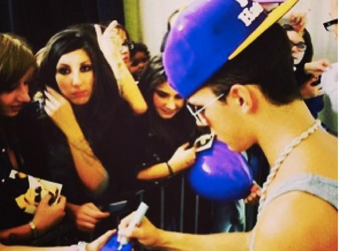 Christopher Bieber : il retrouve le sourire !