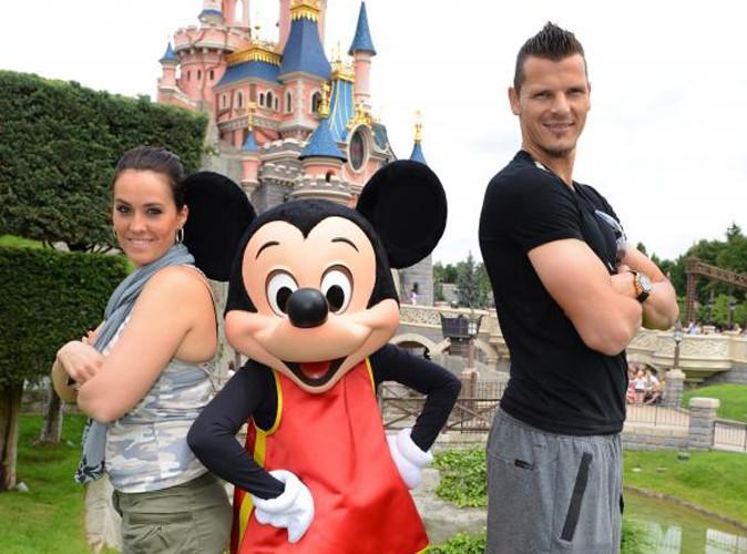 Daniel Van Buyten : il s'éclate en famille chez Mickey !
