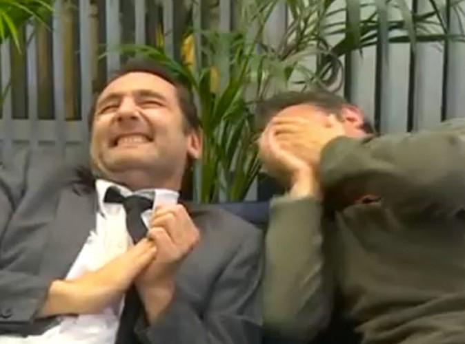 Jean Dujardin et Gilles Lellouche : ils pètent de rire chez RTL !