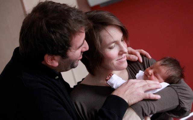 Justine Henin dévoile le visage de sa petite fille !