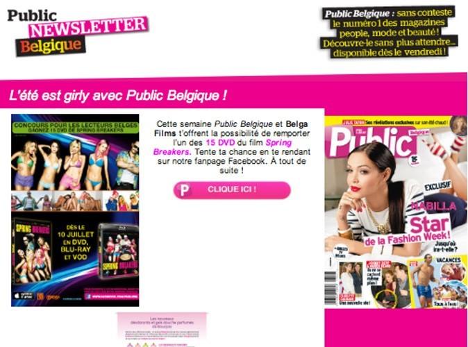 L'été est girly avec Public Belgique !