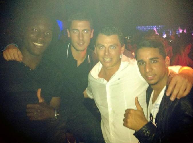 Les stars du foot belge font la fête au Carré !