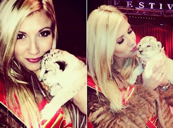 Noémie Happart : elle adopte un lionceau !