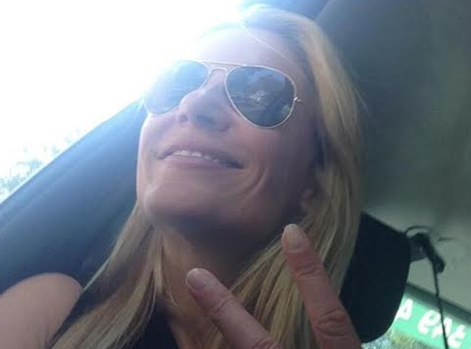 Sandrine Corman : elle prend du bon temps!