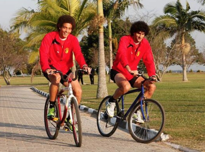 Witsel et Fellaini : un petit tour à bicyclettes !