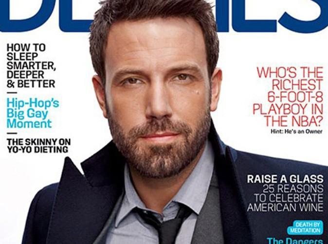 Ben Affleck : barbe de trois jours et costard, il se la joue beau gosse pour un magazine !
