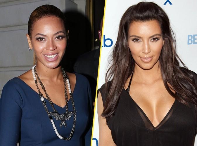 BET Awards 2012 : Beyonce et Kim Kardashian : entre elles, le langage du corps ne trompe pas...