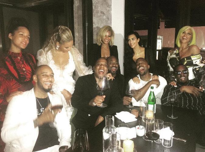 Beyoncé et Jay-Z, Kim et Kanye... La photo qui dit tout !