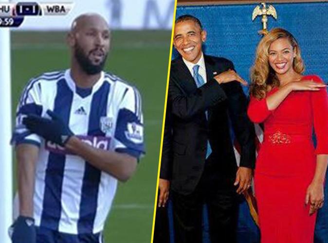 """Beyoncé, Jay-Z et Barack Obama : mais quel est ce geste semblable à la """"quenelle"""" ?"""