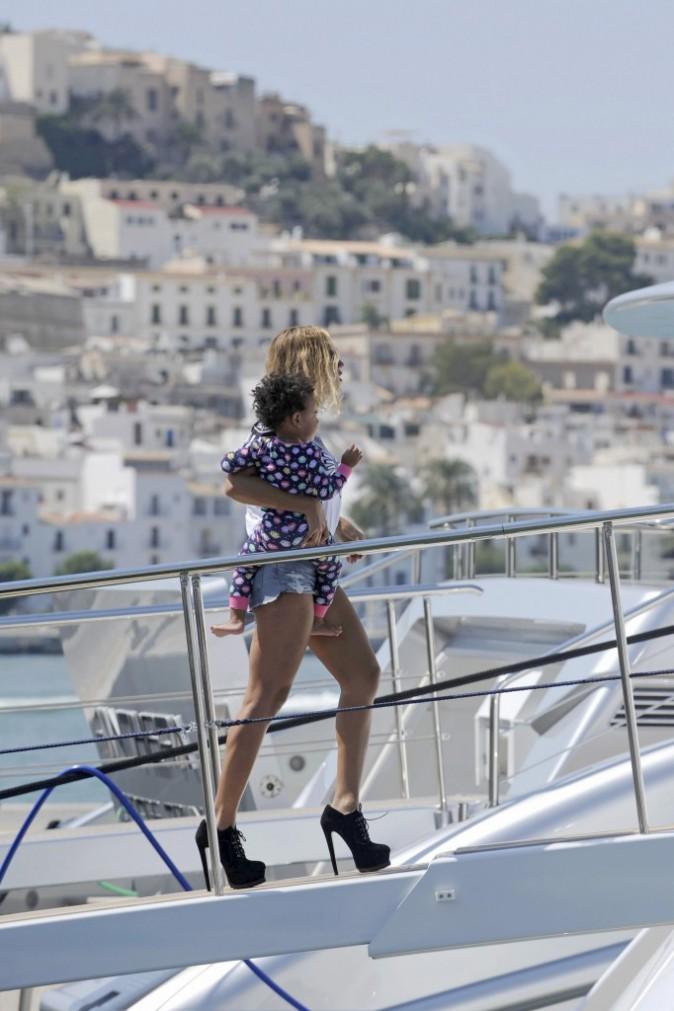 Beyoncé et Blue Ivy à Ibiza
