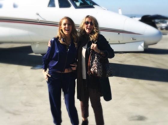 Blake Lively : elle embarque sa maman à bord d'un jet privé !
