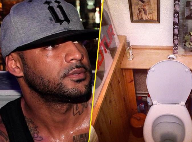 Booba : sa mère décore fièrement ses toilettes avec... ses disques de platine !