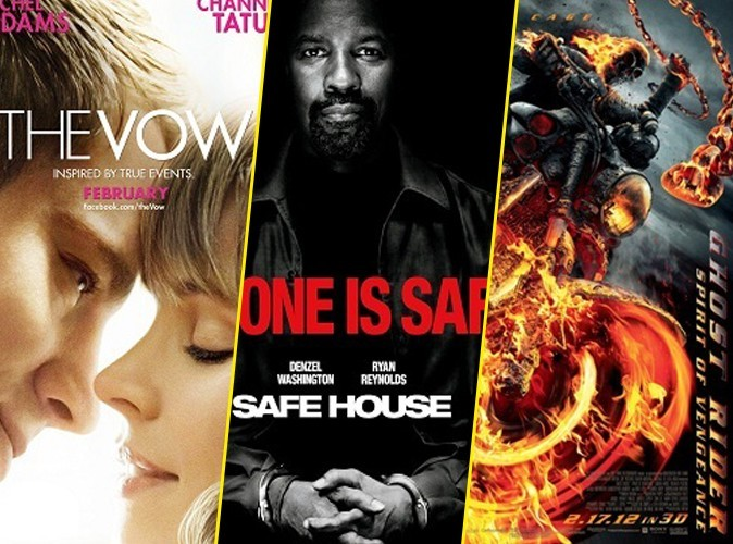 Box-Office US : Rachel McAdams et Channing Tatum en tête avec The Vow !