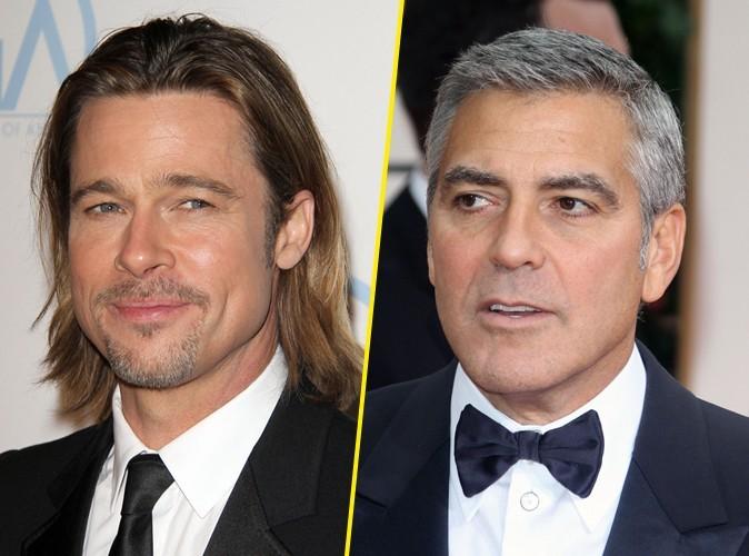 Brad Pitt : depuis 5 ans il a une idée pour se venger de George Clooney !