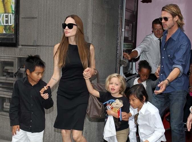 Brad Pitt et Angelina Jolie : leurs enfants se serrent les coudes !