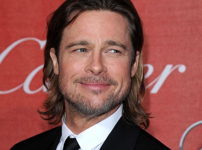 Brad Pitt : il a glissé en portant sa fille !