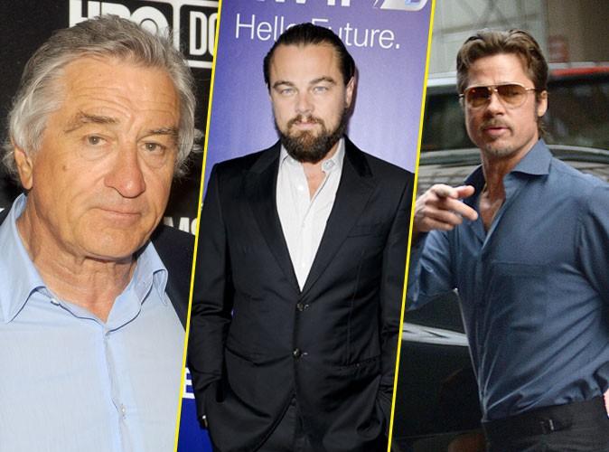 Brad Pitt, Leonardo DiCaprio, Robert De Niro : trio en or pour une pub qui leur rapporte des millions !