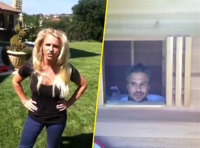 Britney Spears : son pauvre Jason, obligé de dormir dans la maison pour chien !