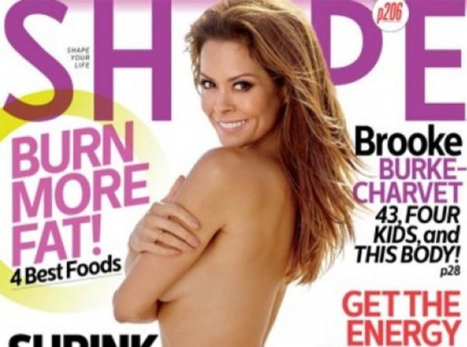 Brooke Burke : l'épouse de David Charvet s'affiche topless en couverture de Shape !