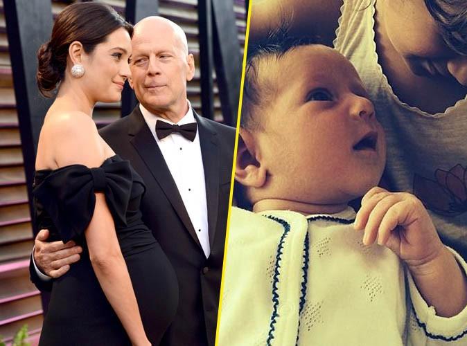 Bruce Willis : tendre photo pour dévoiler le visage de son adorable petite Evelyn !