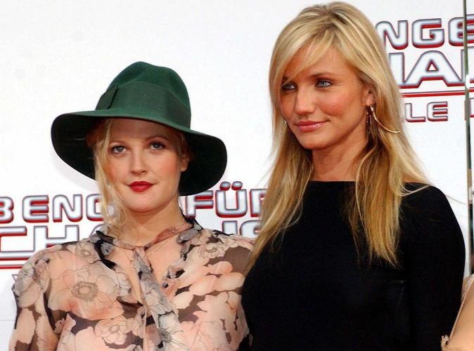 """Cameron Diaz nie avoir fricoté avec Drew Barrymore : """"C'est comme si je couchais avec ma soeur !"""""""