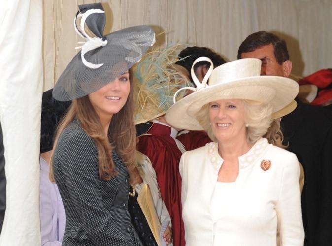 """Camilla Parker Bowles : """"Kate Middleton est une fille charmante. J'attends le mariage avec impatience"""""""