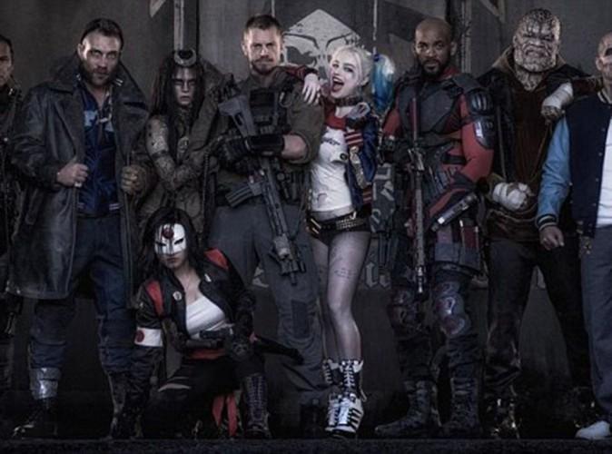 Cara Delevingne et Margot Robbie méconnaissables sur la première photo de Suicide Squad !