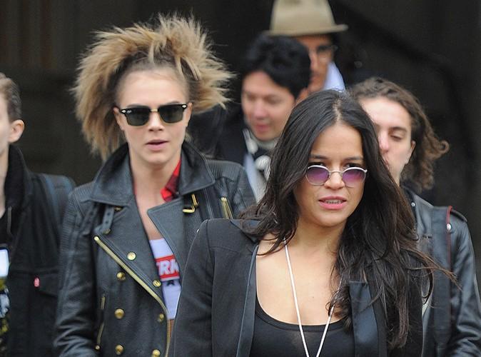 Cara Delevingne : inséparable de Michelle Rodriguez, elle songerait déjà à vivre avec elle !
