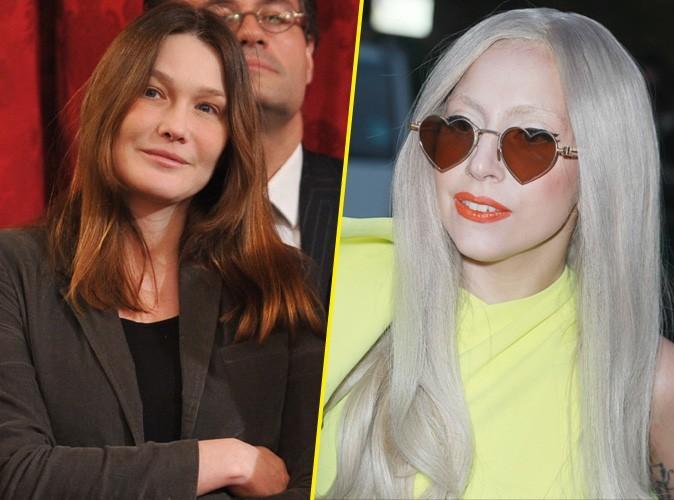 """Carla Bruni : """"A côté de Mme Pompidou, avec mon expérience des médias, je suis Lady Gaga !"""""""