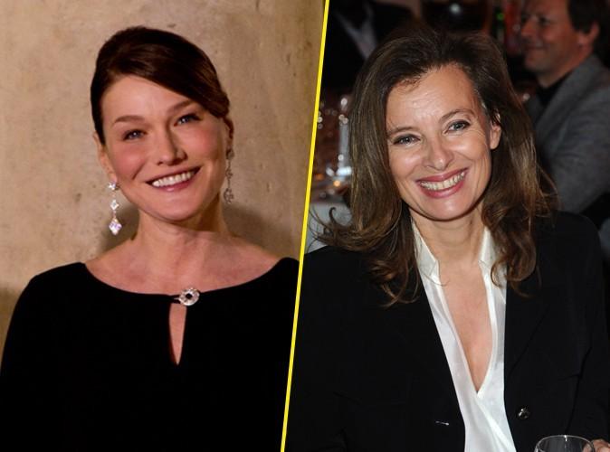 Carla Bruni : cousine avec Valérie Trierweiler, la compagne de François Hollande !