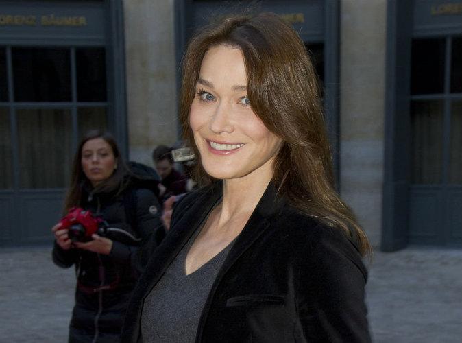 Carla Bruni fait de touchantes déclarations sur sa relation avec les fils Sarkozy !