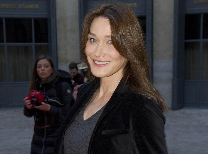 Carla Bruni-Sarkozy dévoile deux nouvelles photos de sa fille Giula sur Instagram !