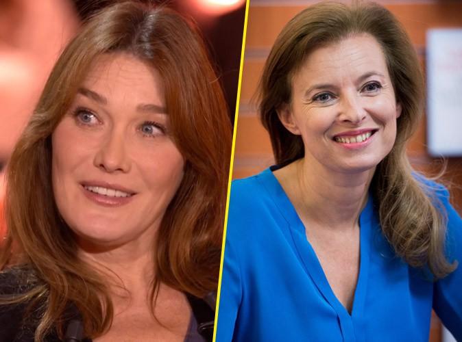 """Carla Bruni-Sarkozy : """"émue"""" par le livre de Valérie Trierweiler !"""