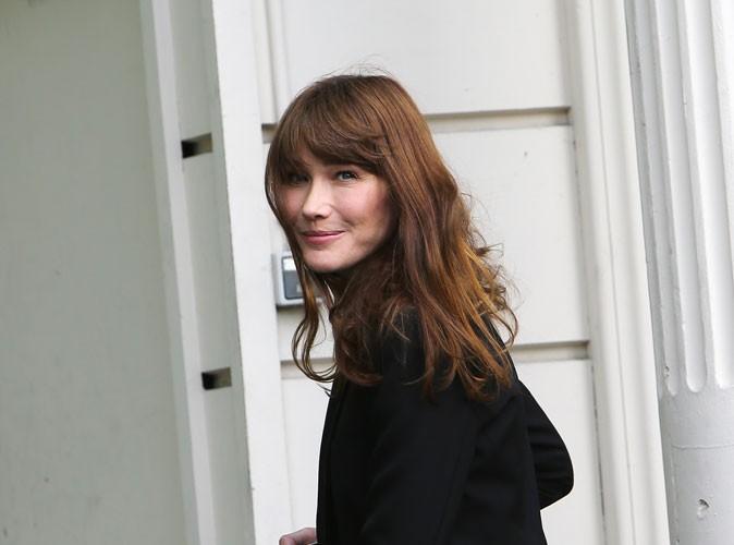 """Carla Bruni-Sarkozy : """"L'histoire de François Hollande et de Valérie Trierweiler, ça ne me regarde pas, mais ça me concerne comme tous les citoyens"""" !"""