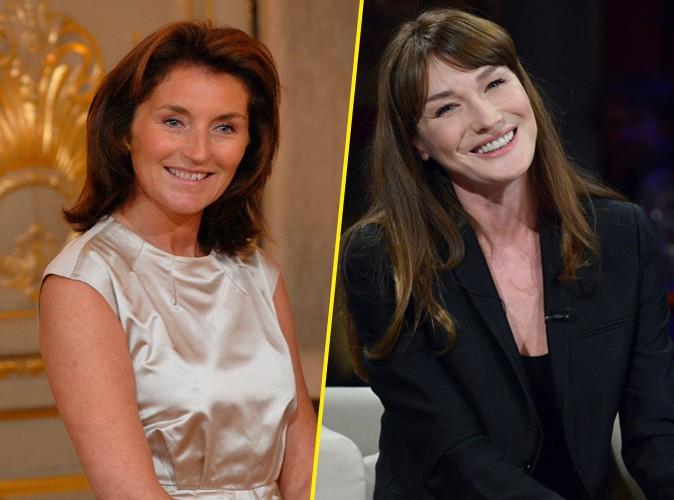 """Cécilia Attias : """"J'aime beaucoup Carla Bruni, elle est fine et intelligente !"""""""
