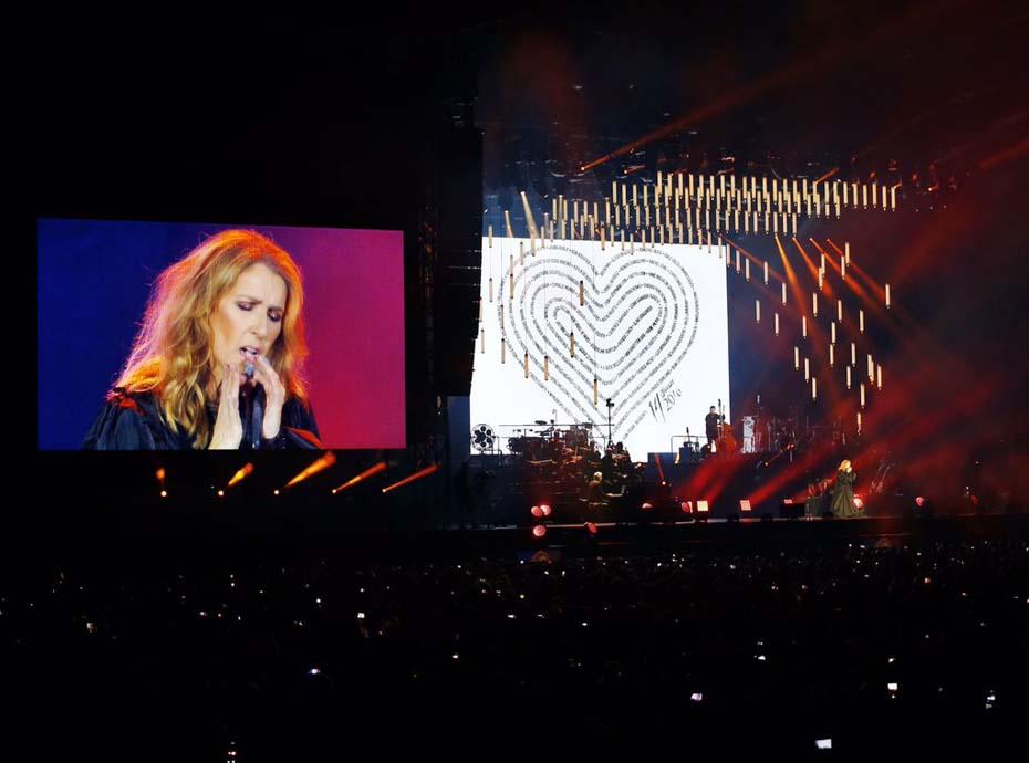 Céline Dion a rendu hommage aux victimes de l'attentat de Nice