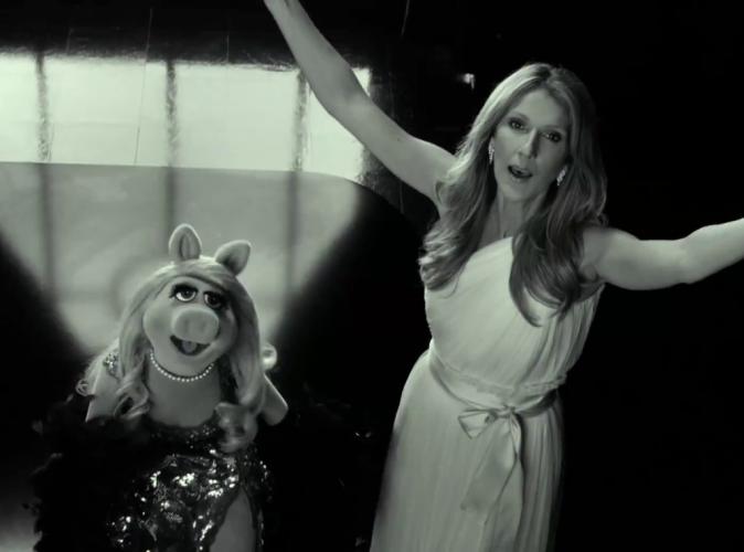 Céline Dion poussera la chansonnette avec Miss Piggy !