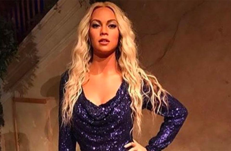 Cette statue est censée représenter Beyoncé...