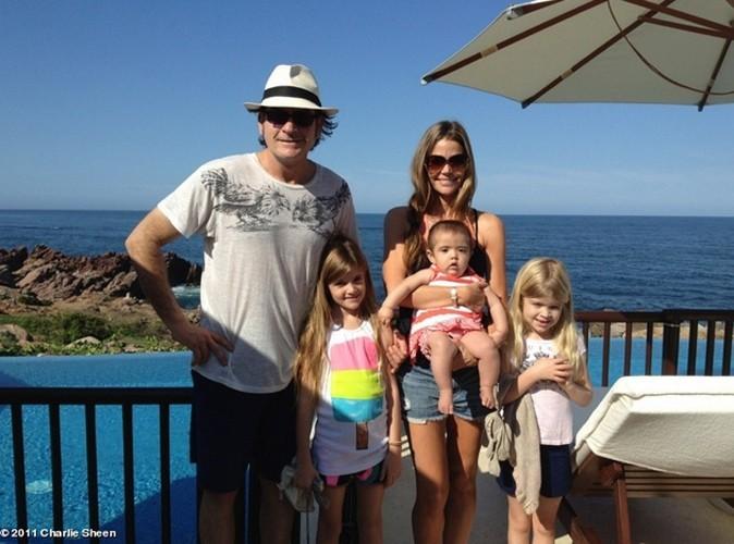 Charlie Sheen : en vacances avec son ex Denise Richards !