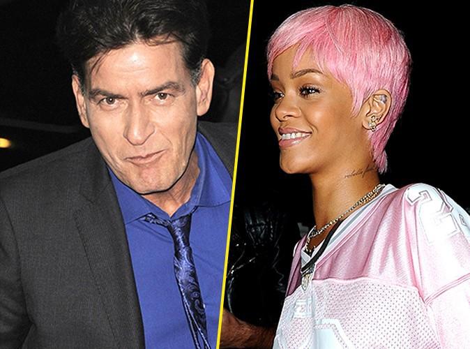 "Charlie Sheen : Rihanna ? ""L'idiote du village"" !"