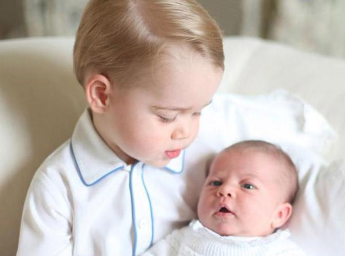 Charlotte de Cambridge : découvrez sa première photo en compagnie de George !